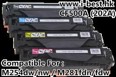 CF500/1/2/3A(202A) 代用碳粉