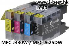 LC40 K/C/M/Y 代用墨盒