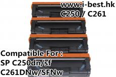 C252 K/C/M/Y 代用碳粉