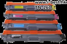 TN261 代用碳粉4色